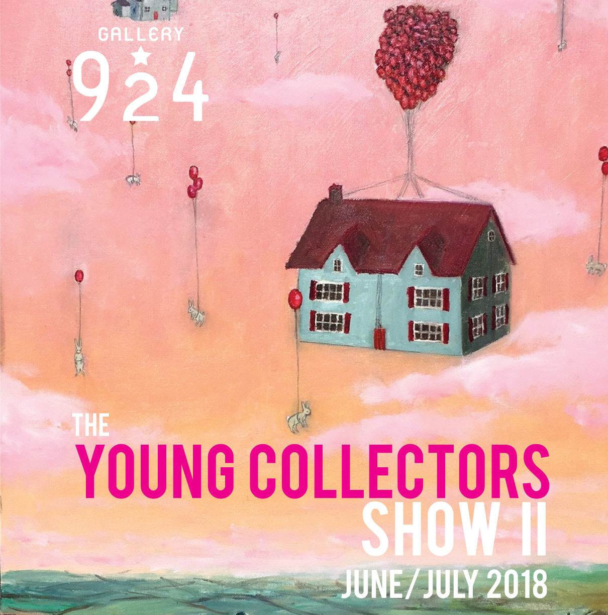 Young Collectors Poster ver 2 June June 2018
