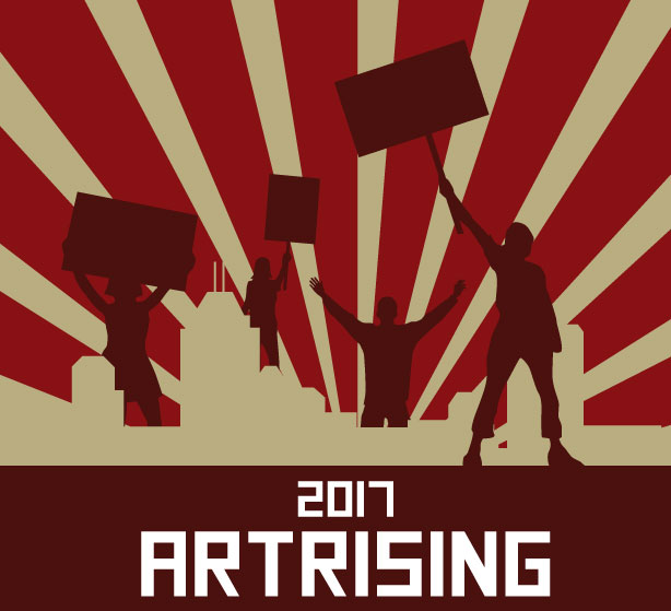 ArtRising Ad Graphic Title