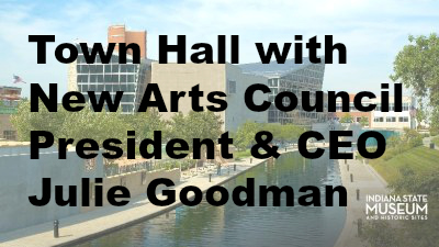 Town Hall with New Arts Council President & CEO