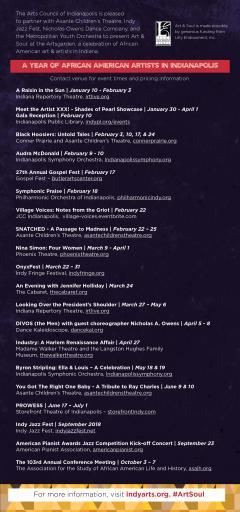 Art & Soul Community Calendar