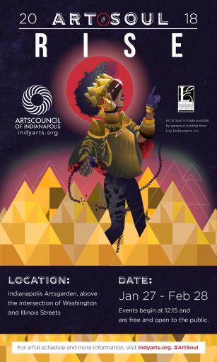 Art & Soul 2018 - Web Poster