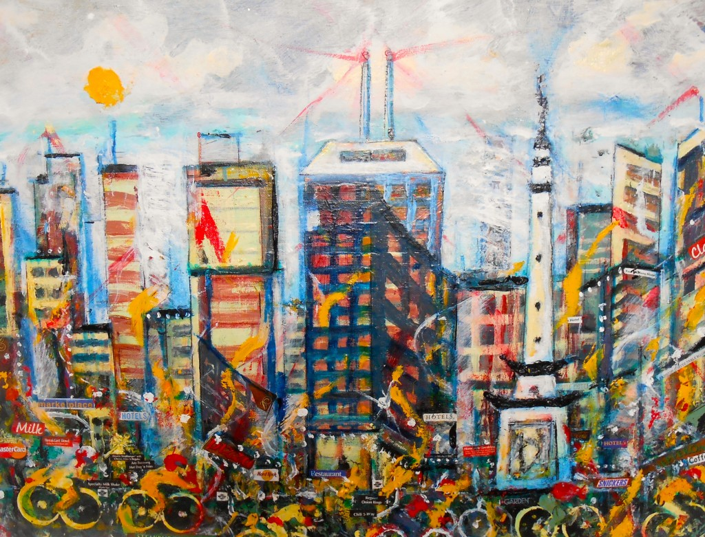 Yellow Bicycle Jerome Neal 2014